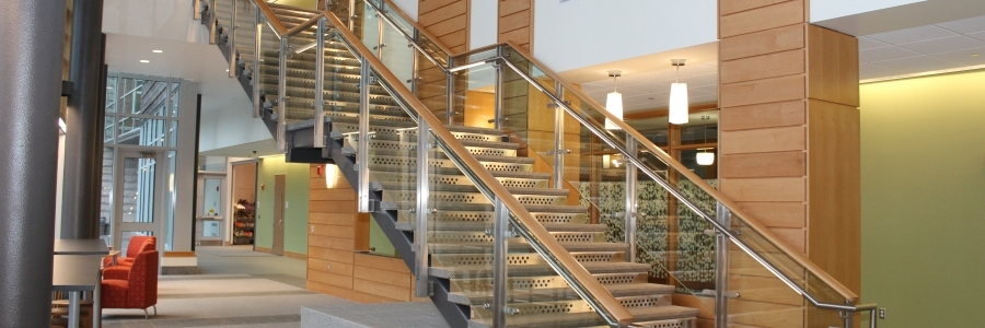 Metals Fabrication And Erection Steel Stairs Rails